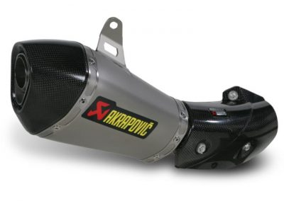 Akrapovic exhaust pipe